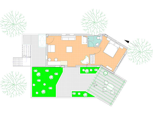 Luxury Suite blueprint