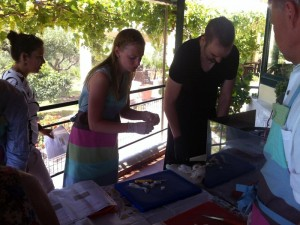 Coocking lessons at Porto Valitsa Halkidiki