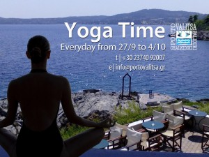 Yoga Time at Porto Valitsa Resort - Halkidiki