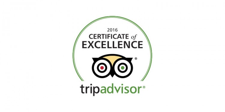 PORTO VALITSA EARNS 2016 TRIPADVISOR CERTIFICATE OF EXCELLENCE