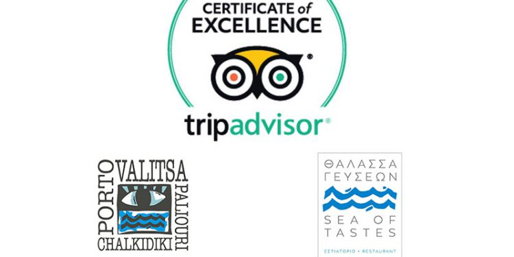 Porto Valitsa earns 2017 TripAdvisor Certificate of Excellence