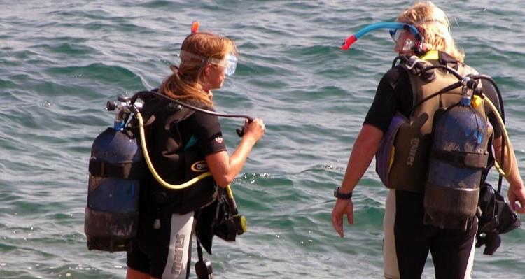 Diving at Porto Valitsa Halkidiki